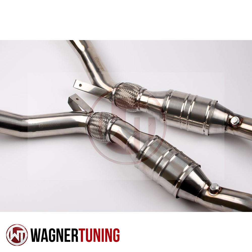 Wagner Tuning Audi A6/RS4/S4 B5 2.7 Bi-Turbo Racing Catalyst Downpipe Kit