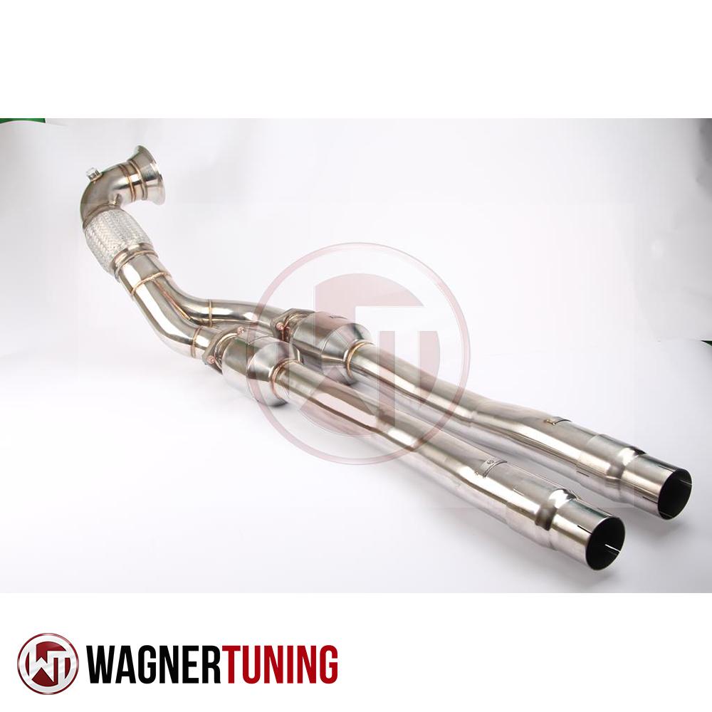 Wagner Tuning Audi RS3 8P Quattro 2.5 TFSI (2011-2013)/Audi TTRS 8J Quattro 2.5 TFSI (2009-2014) Racing Catalyst Downpipe Kit - 500001003