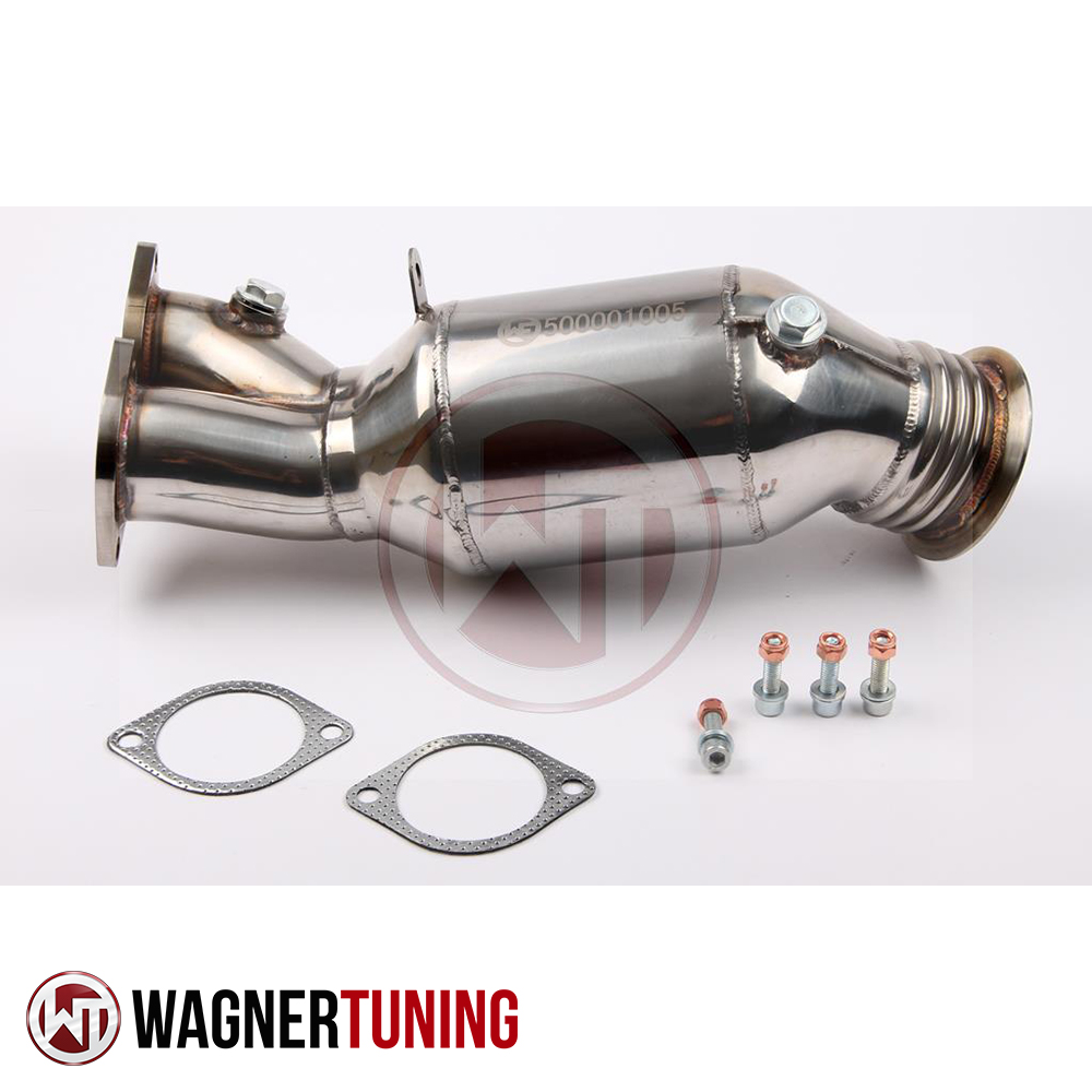 Wagner Tuning BMW E82-E93 N55 Performance Downpipe Kit - 500001005