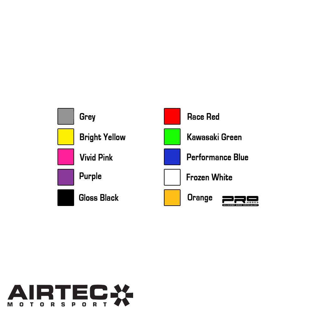 Airtec Motorsport Colour Options