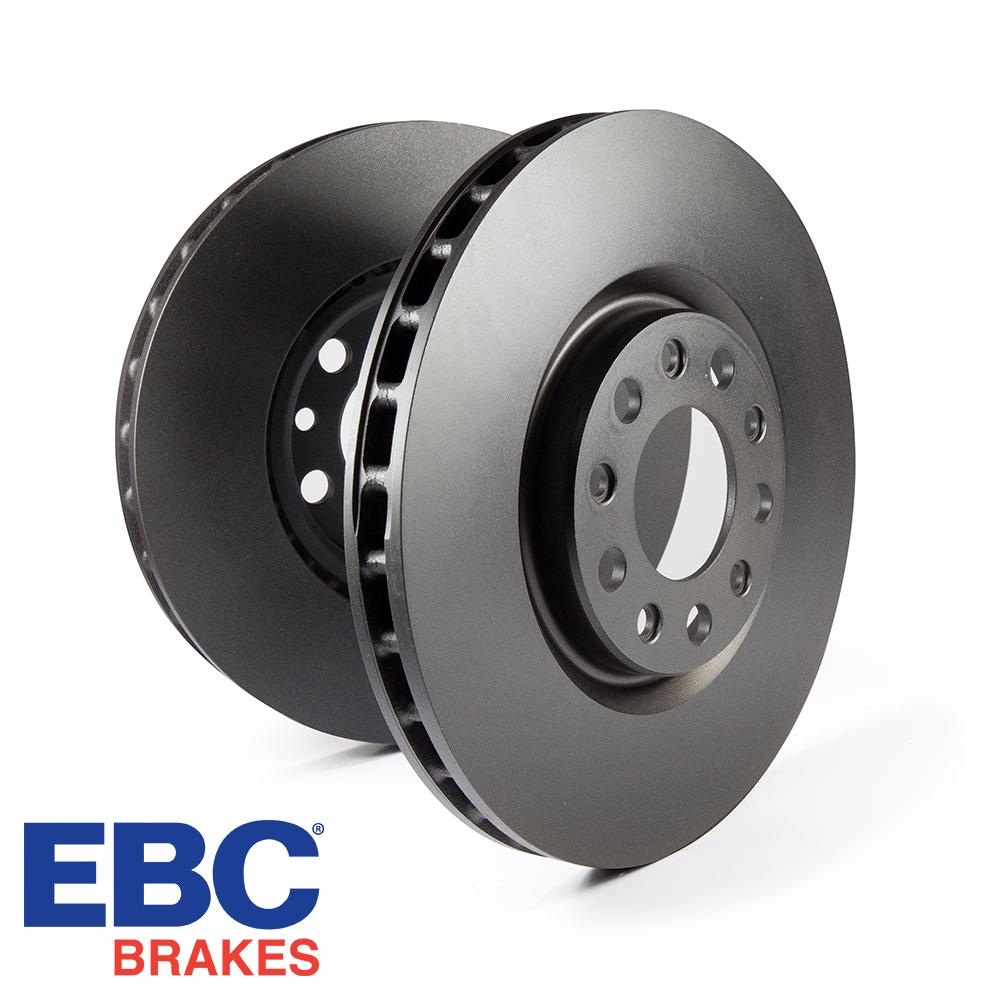 EBC Brakes Audi A1 8X 1.0 TFSI 95 BHP (2015-) D Series Premium OE Brake Discs (Front) - ATE Caliper - 288mm Disc - D818