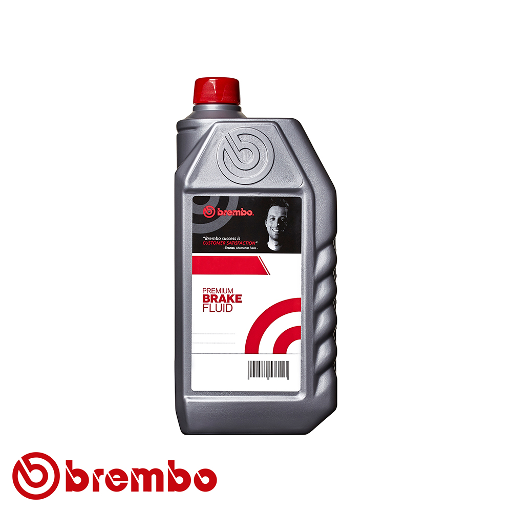 Brembo Premium Brake & Clutch Fluid - DOT 4 - 0.5 Litre - L04005