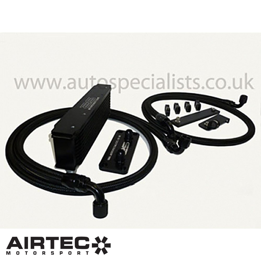 Airtec Motorsport Ford Focus MK2 RS 2.5 Turbo (2009-2010) Top Grill Mounted Remote Oil Cooler Kit - ATOILFO2/RS