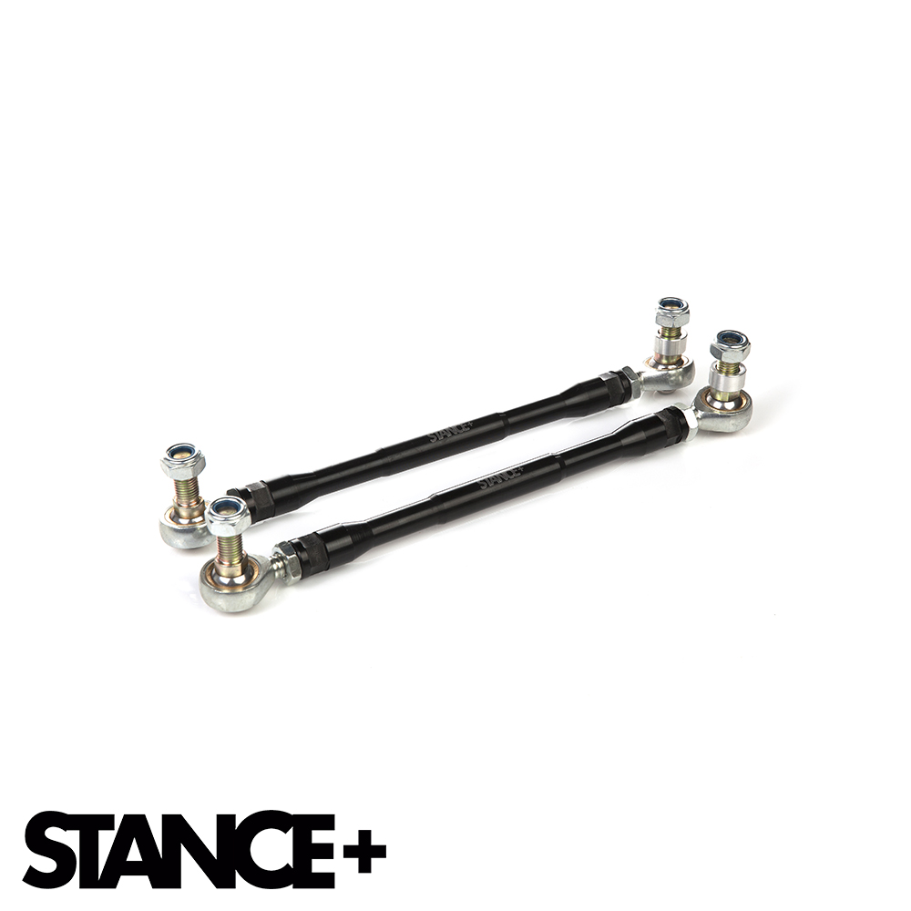 Stance+ Audi A3 8P Hatchback 1.6 TDI, 1.9 TDI, 2.0 TDI 2WD (2003-2012) Shortened Drop Links - Adjustable - DL-270-320