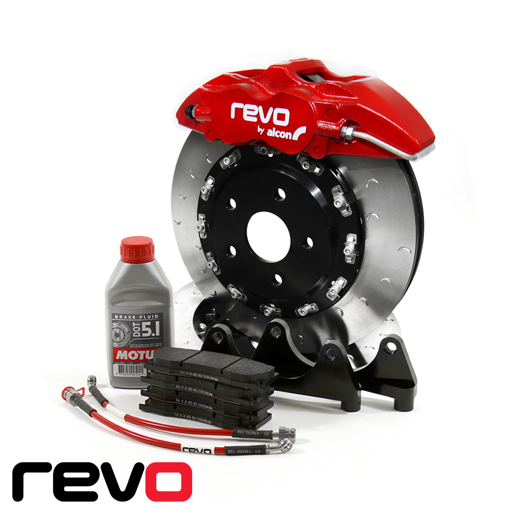Revo Audi S1 8X 2.0 TFSI Quattro (2014-) Mono 4 Big Brake Kit - 332 x 28mm - RA831B100200