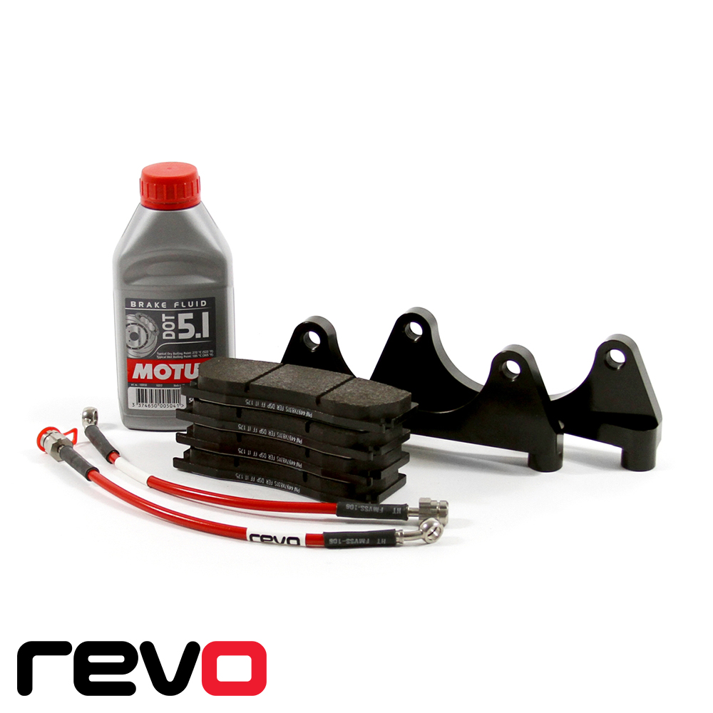 Revo Audi RS3 8P 2.5 TFSI Quattro (2010-2012) Mono 6 Big Brake Kit - 380 x 32mm - RA551B200100