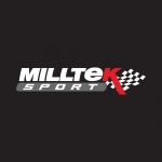 """Milltek Sport Ford Focus MK2 ST225 2.5 Turbo (2005-2010) 3.00"""" Large Bore Downpipe With Sports Cat - SSXFD168"""