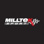 "Milltek Sport Ford Fiesta MK7 ST180 1.6 Turbo EcoBoost 182PS & ST200 (2012-) 2.76"" Rear Silencer Delete Assembly - SSXFD200"