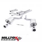 "Milltek Sport Audi S4 B6 4.2 V8 Quattro Avant, Cabriolet & Saloon (2003-2005) 2.25"" Cat Back Exhaust System (Resonated) - SSXAU100"