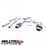 "Milltek Sport Audi RS4 B7 4.2 V8 Avant, Cabriolet & Saloon (2006-2008) 2.36"" Cat Back Exhaust System (Non-Resonated) - SSXAU116"