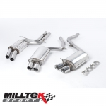 "Milltek Sport Audi S5 B8 4.2 V8 Quattro Coupe (2007-2011) 2.36"" Cat Back Exhaust System (Resonated) - SSXAU134"