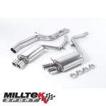 "Milltek Sport Audi S5 B8 4.2 V8 Quattro Coupe (2007-2011) 2.36"" Cat Back Exhaust System (Non-Resonated) - SSXAU190"