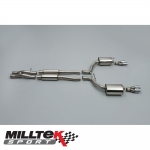 "Milltek Sport Audi RS6 C6 5.0 V10 Bi-Turbo Quattro (2008-2010) 2.75"" Cat Back Exhaust System (Resonated) - SSXAU205"