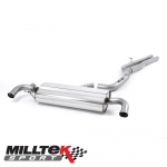 "Milltek Sport Audi TTRS 8J Quattro 2.5 TFSI (2009-2014) 3.00"" Cat Back Exhaust System (Non-Resonated) - SSXAU234"