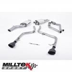 "Milltek Sport Audi S4 B8 3.0 V6 Supercharged (2009-2012) 2.37"" Cat Back Exhaust System (Non-Resonated) - SSXAU240"