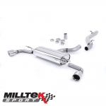 "Milltek Sport Audi TT 8J 3.2 V6 Quattro (2006-2010) 2.75"" Cat Back Exhaust System (Non-Resonated) - SSXAU258"