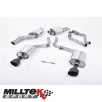 "Milltek Sport Audi S5 B8 3.0 TFSI Quattro S Tronic Cabriolet & Coupe (2009-2011) 2.37"" Cat Back Exhaust System (Resonated) - SSXAU266"
