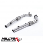 "Milltek Sport Audi RS4 B7 4.2 V8 Avant, Cabriolet & Saloon (2006-2008) 2.50"" Cat Replacement Pipes - SSXAU285"