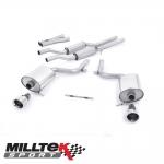 "Milltek Sport Audi S4 B6 4.2 V8 Quattro Avant, Cabriolet & Saloon (2003-2005) 2.25"" Cat Back Exhaust System (Resonated) - SSXAU296"