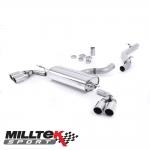 "Milltek Sport Audi TT 8J 3.2 V6 Quattro (2006-2010) 2.75"" Cat Back Exhaust System (Non-Resonated) - SSXAU301"
