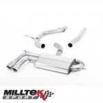 """Milltek Sport Audi A3 8P 2.0 TDI 140 BHP 2WD 3 Door Non-DPF (2004-2012) 2.75"""" Cat Back Exhaust System - SSXAU326"""