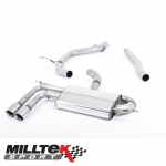"Milltek Sport Audi A3 8P 2.0 TDI 140 BHP 2WD Sportback DPF (2008-2012) 2.75"" Particulate Filter Back Exhaust System - SSXAU329"