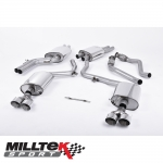 "Milltek Sport Audi S5 B8.5 3.0 TFSI Sportback (2012-) 2.37"" Cat Back Exhaust System (Resonated) - SSXAU366"