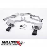 "Milltek Sport Audi S4 B8 3.0 V6 Supercharged (2009-2012) 2.37"" ValveSonic Cat Back Exhaust System - SSXAU380"