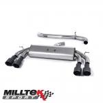 """Milltek Sport Audi S3 8V 2.0 TFSI Quattro Sportback (2013-) 3.00"""" Non-Valved Cat Back Exhaust System (Non-Resonated) - SSXAU532"""