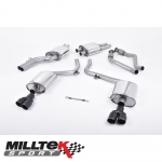 "Milltek Sport Audi S5 B8 3.0 TFSI Quattro Sportback (2010-2011) 2.37"" Cat Back Exhaust System (Resonated) - SSXAU556"