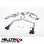 "Milltek Sport Audi S5 B8 3.0 TFSI Quattro Sportback (2010-2011) 2.37"" Cat Back Exhaust System (Non-Resonated) - SSXAU557"