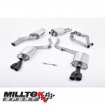 "Milltek Sport Audi S5 B8 3.0 TFSI Quattro S Tronic Cabriolet & Coupe (2009-2011) 2.37"" Cat Back Exhaust System (Resonated) - SSXAU558"