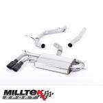 """Milltek Sport Audi A3 8P 2.0 TDI 140 BHP 2WD 3 Door Non-DPF (2004-2012) 2.75"""" Cat Back Exhaust System - SSXAU562"""