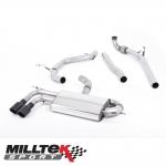 """Milltek Sport Audi A3 8P 2.0 TDI 140 BHP 2WD 3 Door Non-DPF (2004-2012) 2.75"""" Turbo Back Exhaust System - SSXAU563"""