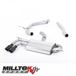 "Milltek Sport Audi A3 8P 2.0 TDI 170 BHP 2WD 3 Door DPF (2008-2012) 2.75"" Particulate Filter Back Exhaust System - SSXAU566"