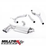 """Milltek Sport Audi A3 8P 2.0 TDI 140 BHP 2WD 3 Door Non-DPF (2004-2012) 2.75"""" Turbo Back Exhaust System - SSXAU567"""