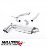 """Milltek Sport Audi A3 8P 2.0 TDI 140 BHP 2WD 3 Door Non-DPF (2004-2012) 2.75"""" Cat Back Exhaust System - SSXAU574"""