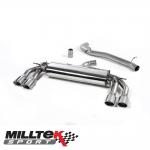 "Milltek Sport Audi TTS 8S 2.0 TFSI Quattro (2015-) 3.00"" Cat Back Exhaust System (Non-Resonated) - SSXAU575"