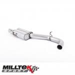 """Milltek Sport Audi S3 8V 2.0 TFSI Quattro Sportback (2013-) 3.00"""" Road+ Centre Silencer - SSXAU619"""