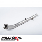 "Milltek Sport Ford Fiesta MK6 ST150 (2005-2008) 2.36"" Cat Replacement Pipe - SSXFD017"