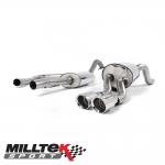 "Milltek Sport Ford Fiesta MK7 1.0 Turbo EcoBoost 100/125/140PS (2013-) 2.37"" Cat Back Exhaust System (Resonated) - SSXFD108"