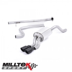 """Milltek Sport Ford Fiesta MK7 1.0 Turbo EcoBoost 100/125/140PS (2013-) 2.37"""" Cat Back Exhaust System (Non-Resonated) - SSXFD137"""