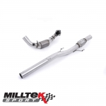 "Milltek Sport Audi A1 8X S Line 1.4 TFSI 185PS S Tronic (2010-2015) 2.76"" Large Bore Downpipe With Sports Cat - SSXSE135"