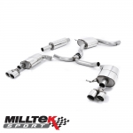 """Milltek Sport Seat Leon 5F ST Cupra 280-290PS 2.0 TSI (2015-) 3.00"""" Cat Back Exhaust System - SSXSE170"""