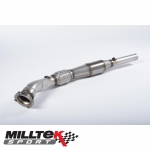 "Milltek Sport Audi A3 8L 1.8 Turbo 2WD 3 & 5 Door (1996-2004) 3.00"" Large Bore Downpipe With Sports Cat - SSXVW050"