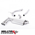 "Milltek Sport Audi A3 8P 2.0 TDI 170 BHP 2WD 3 Door DPF (2008-2012) 2.75"" Particulate Filter Back Exhaust System - SSXVW181"