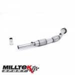 "Milltek Sport Audi A3 8L 1.8 Turbo 2WD 3 & 5 Door (1996-2004) 3.00"" Large Bore Downpipe With Sports Cat - SSXVW393"