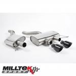 "Milltek Sport Volkswagen Golf MK6 R 2.0 TSI 270PS (2009-2013) 2.75"" Cat Back Exhaust System (Resonated) - SSXVW139"