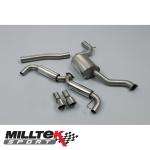 "Milltek Sport Volkswagen Golf MK6 GTI 2.0 TSI 210PS (2009-2013) 3.00"" Cat Back Exhaust System (Resonated) - SSXVW145"