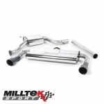 "Milltek Sport Volkswagen Golf MK7 GTI Incl. Clubsport, Clubsport S & Performance Pack Models 2.0 TSI (2013-) 3.00"" Cat Back Exhaust System (Resonated) - SSXVW226"